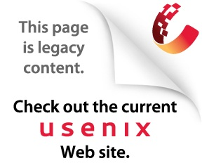 Check out the new USENIX Web site.